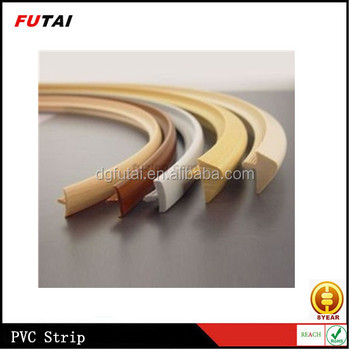 Furniture edge trim strip t shaped strip buy pvc for Furniture t trim edging