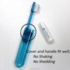 New Design FDA Approved Mini Foldable Travel Toothbrush with Toothpaste
