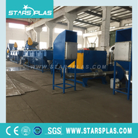 Supply top quality waste plastic film washing recycling plant equipment