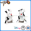 new product high quality littel plastic cartoon cow wind-up toys for kids