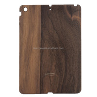 For iPad 5 Case Wood Grain Pattern Smooth Flip Stand Bamboo Hard Blank Case For ipad air