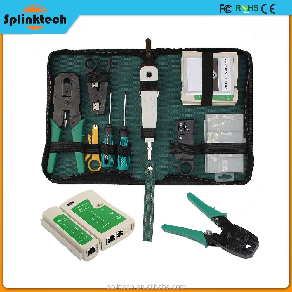 CAT5 RJ45 Network LAN Length Cable Phone Tester Testing Meter Tools