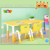 Injection Moulding Baby Wood Childrens Table And Chair Set