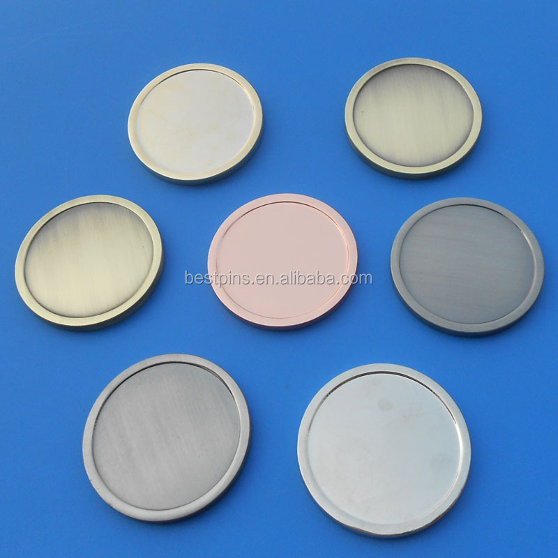 new model round blank challenge coin for advertising promotion