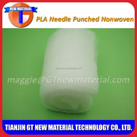 420gsm polyester needle punched felt fabric, polyester needle punched nonwoven fabric