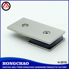180 degree wall to glass stainless steel patch fitting for glass shower door