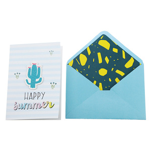 Bsci Factory Audit Wholesale Blank Greeting Cards And Envelopes