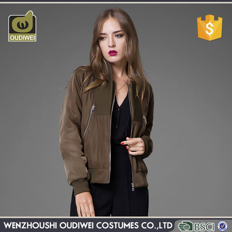 Modern style OEM design formfitting cotton padded jacket winter coat