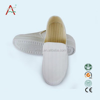 China cheap white bulk canvas esd shoes