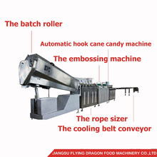 Automatic crutch lollipop candy making forming machine