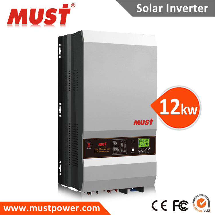 Low frequency solar power star 12KW inverter 4KW 5KW 6KW 8KW 10KW 12KW for pumps generator houses and industrial use