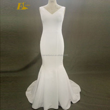 Simple Mermaid Gorgeous Cheap Under 100 Alibaba Wedding Dress