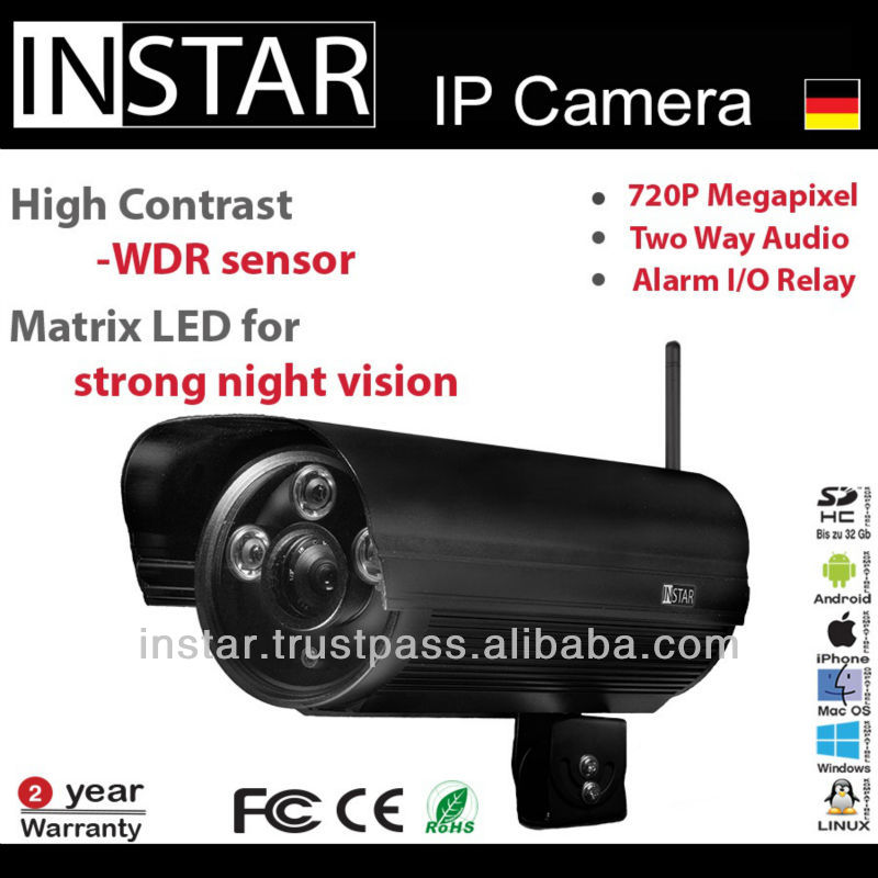 INSTAR IN-5907HD - 1.0MP PoE Camera