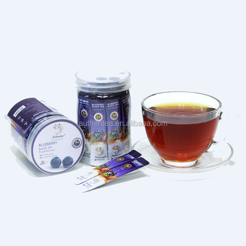Easy-to-take Instant Blueberry Tea Extract Suitable for All Occasion