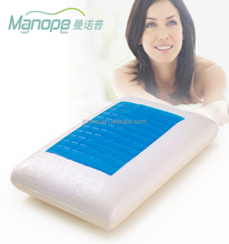 Gel Infused Standard Memory Foam Pillow 65X40X14cm with Inner Cover and Stretch knit