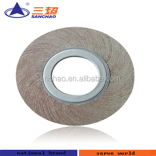 abrasive flap wheel for polishing motorcycle parts