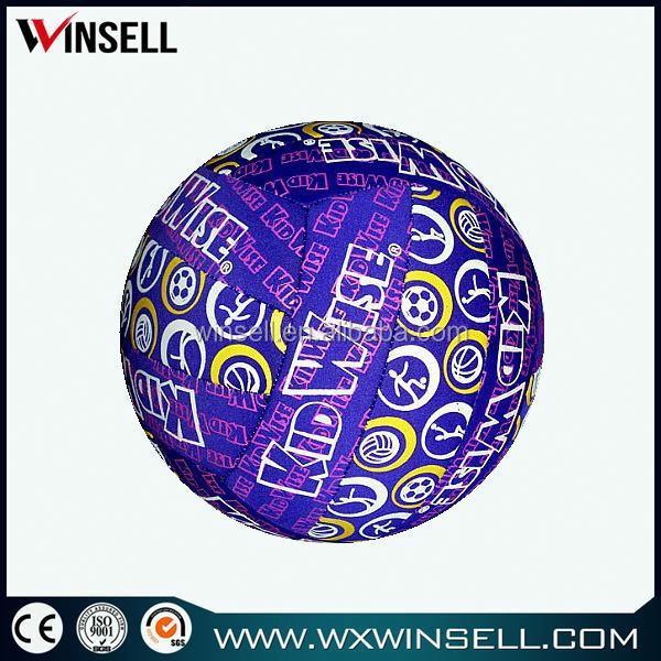 High quality multicolor soft touch neoprene material football/foot ball/soccer ball/volleyball