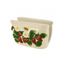 Ceramic Strawberry Design Napkin Holder