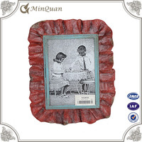chinese style red metal picture frame manufacture