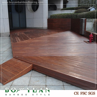 Factory price outdoor flooring, composite decking bamboo decking