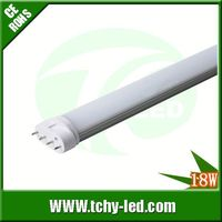 Hot item 100lm/w epstar 2g11 pll led tube for Park