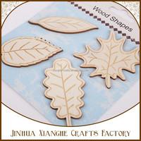 decorative wood leaf carving wooden shapes