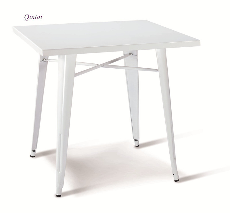 metal square dining table white elegant table