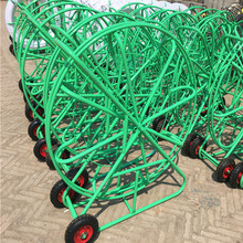 High Quality Fiber Snake Duct Rodder, Galvanized Electrical Cable Reel Stands