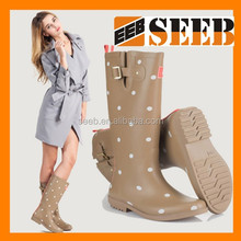 High quality rain cover for shoes lace women rubber rain boot waterproof rain boot covers