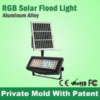 Hot Selling Rgb Seven Colors Solar Powered Led Waterproof Ground Lights