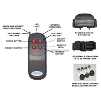 4 in 1 Pet Remote Trainer Dog Electric Training Shock & Vibrate Collar