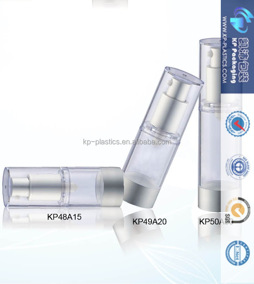 Wholesale High Quality 50ml Airless Bottle Cosmetic Packaging
