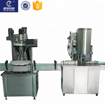 Custom-made easy to operate vial spice bottle ground coffee powder filling machine small manufacturing machines made in China