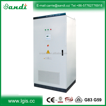 75kw 3 phase 380/220V 98% high efficiency solar grid tie inverter with CE,SAA,G83,G59,VDE AR N 4105 certifications