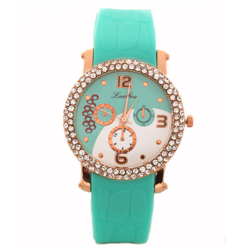 pure color new slim strap fancy silicone for small wrist women watch