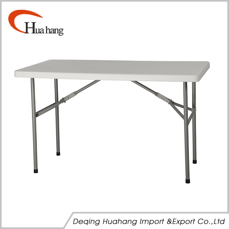 Portable New Design Cheap Hot Sale Plastic Square Folding Table