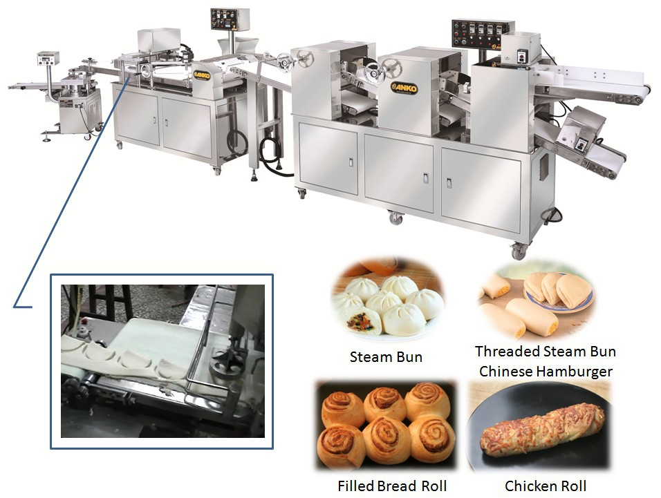 Anko automatic frozen industrial bread manufacturing machines