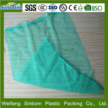 Good quality Packing fruit and vegetable net mesh drawstring bag on sale