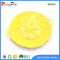 Hot New Products for 2015 China Supplier Colorful FDA LFGB Pot Cover Silicone Pot Cover