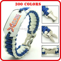 most popular metal charms for paracord bracelets