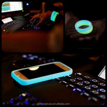 Wholesale multifunction soft silicon luminous hand ring bumper case for iphone 5s