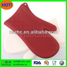 Latest style hot promotion gifts potholder and oven mitt
