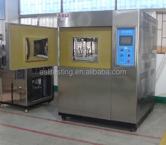 IEC Standards thermal shock chamber usage lab apparatus Three Box Air Cooled Thermal Shock Test Chamber