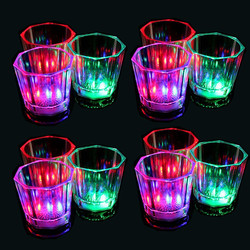 Bar Accessories and Party Light Up Glowing LED Plastic Cup