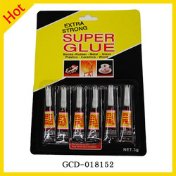 Customized Factory Price 6pcs 3g 502 Tube Glue Quick Bond Leather Shoes Glue
