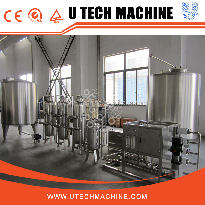 3000L PH pure water treatment system / machine / plant