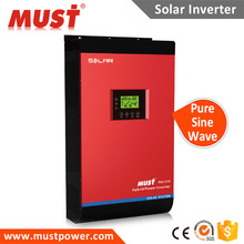 China < MUST> Pure sine wave Solar inverter PV1800 1-5kva dc48v MPPT/PWM 60A for solar energy system for pump and home appliance