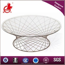 2015 latest tempered glass coffee tables