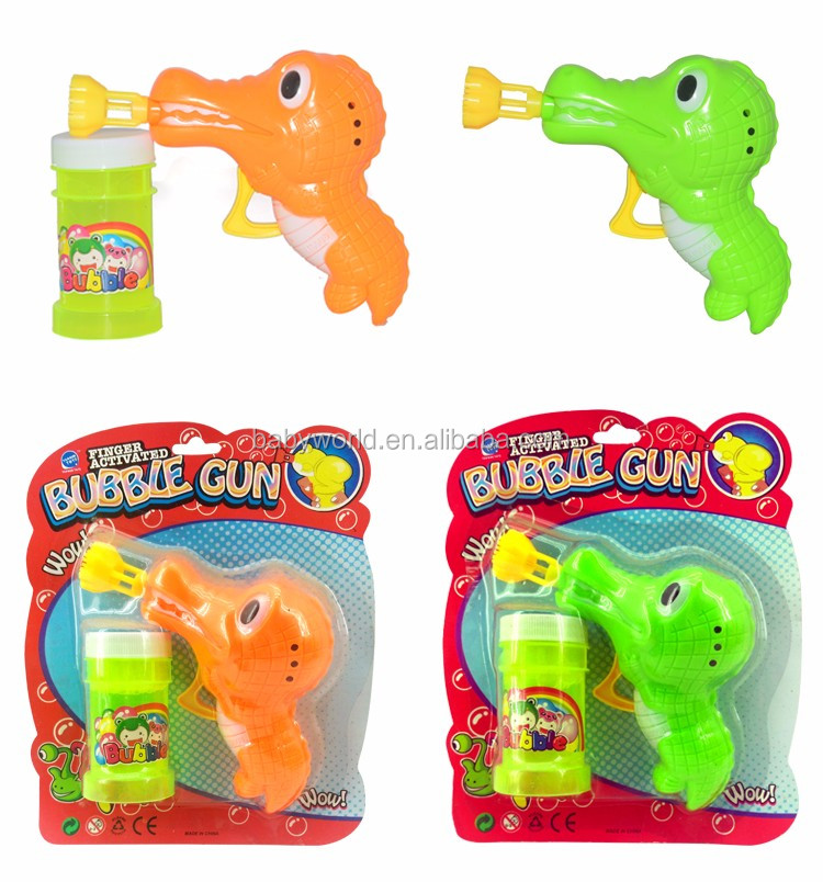 Wholesale Baby Toys : Wholesale manual bubble gun toy view baby