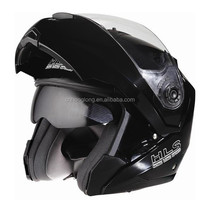 Adults Flip up chin bar helmet with double visor--(DOT&ECEcertification)